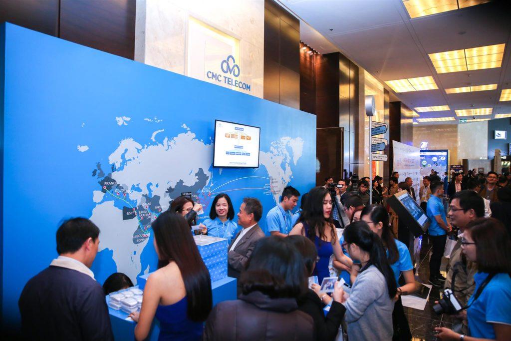 Gian Hàng của CMC Telecom tại sự kiện