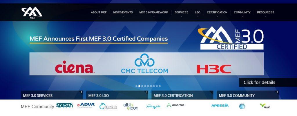 Press Release] CMC Telecom achieved the world first MEF 3.0 ...