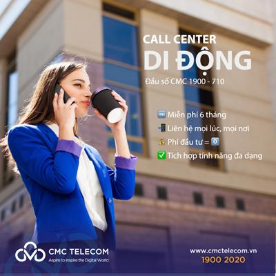 [Vietnamnet] CMC Telecom tặng 6 tháng Phí tổng đài cho doanh nghiệp - CMC Telecom   Data – Internet – Data Center - Voice – VAS